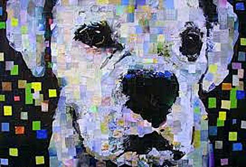 Custom pet portraits dog, cat paintings