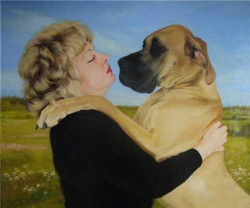 Memorable Painted pet portraits