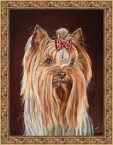 DIY Pet painting portraits