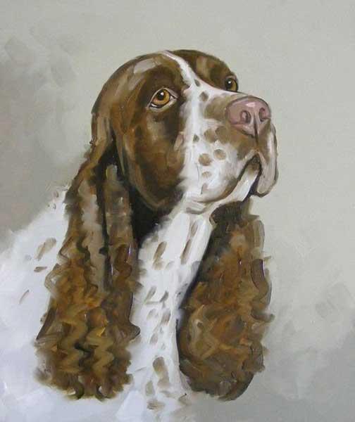 Pet portrait painting, capture your dog's unique personality