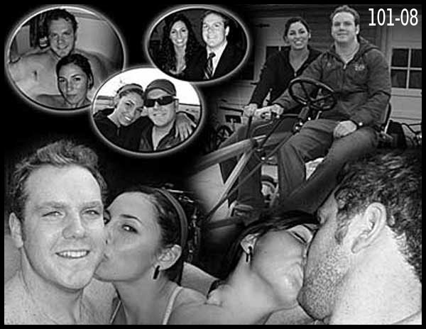 Traditional photo collage for husband, wife, girlfriend, boyfriend 1-2-3-4-5 years anniversar