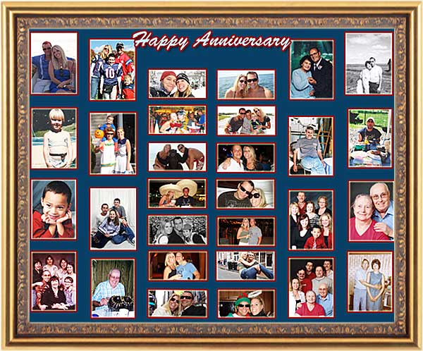 20th wedding anniversary photo gift for parents, 20 sayings, 21, 22, 23, 24