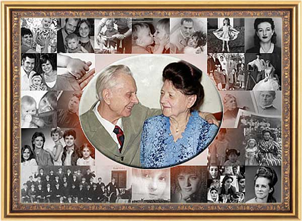 Golden 50th anniversary gift for grandparents, parents