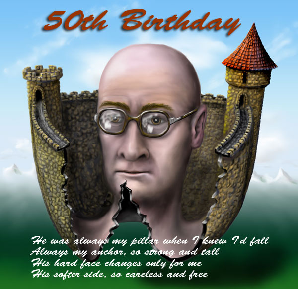 50 birthday wishes for father 50th, creative gift ideas
