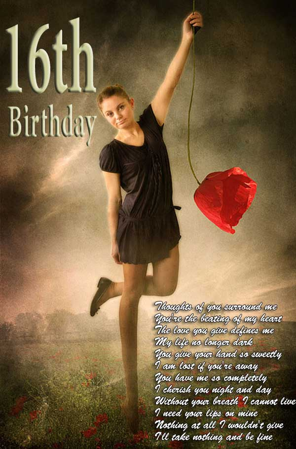 Memorable 16th birthday ideas, girlfriends birthday quotes for gifts