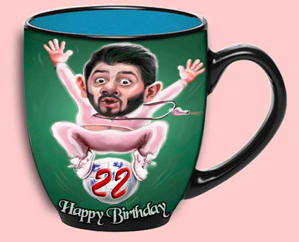 Personalized 22nd Birthday Coffee Mug