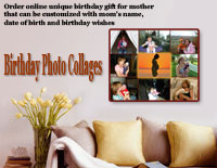Personal gift for mom – family collage
