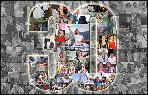 Personal 30th birthday gift ideas for 30 year old sister, picture collage