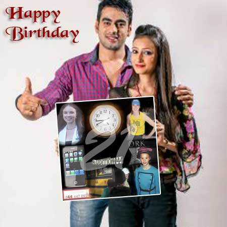 Gift ideas for 21 year old wife, 21st birthday photo collage, present for wife turning 21