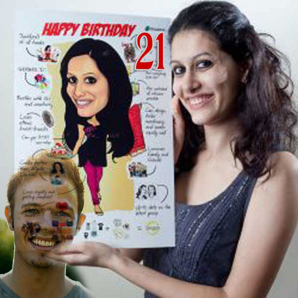 21st birthday gift ideas for wife turning 21