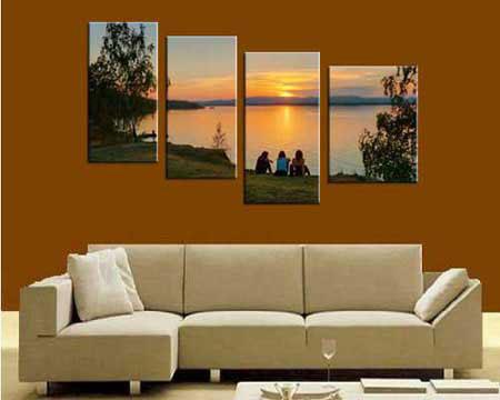4-piece Canvas Set - Split one photo into four panels