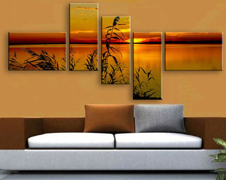 Multi-Panel Wall Art - Split one photo into five panels