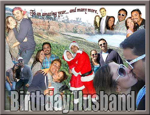 22nd birthday collage