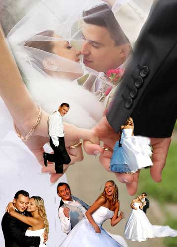 marriage photo collage ideas