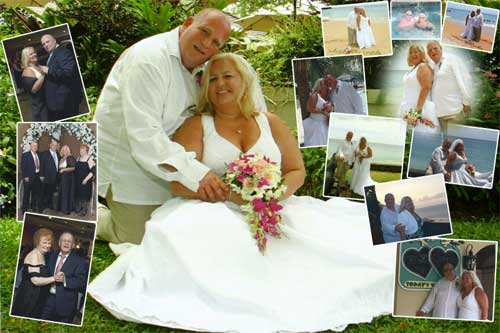 wedding collage design from 15 photos