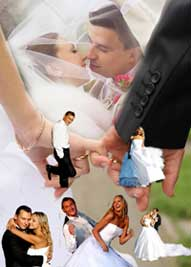 Wedding Collage Blended