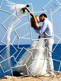Wedding Collage Mosaic