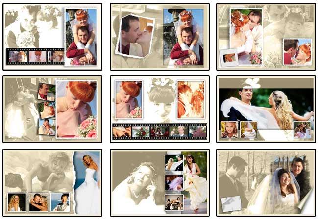 Wedding photo-poster album 1