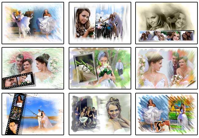 Wedding photo-poster album 3