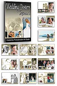 Wedding framed poster album 1