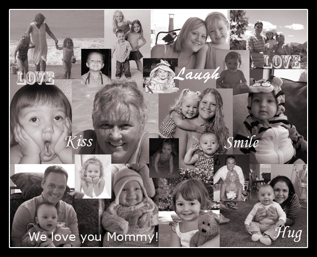 Christmas Gift for Mother - Photo Collage