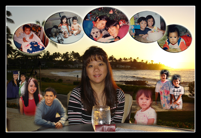 Happy 30th Birthday photo collage for  wife turning 30 , good for Mothers Day and Christmas