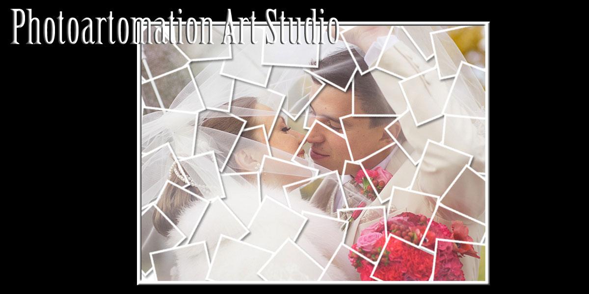 Mosaic Wedding Collage, 10, 11, 12, 13, 14, 15 Anniversary gift ideas
