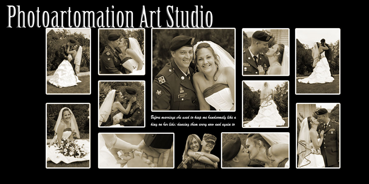 >Military Wedding Collage, 20, 21, 22, 23, 24, 25 Anniversary gift ideas