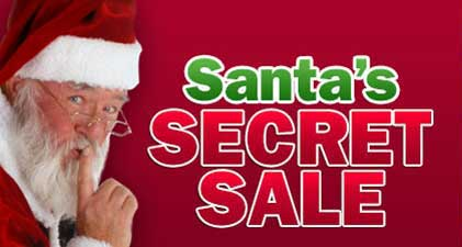 Santa Secret Christmas Sale