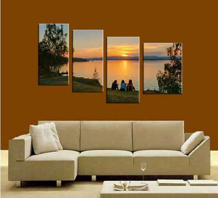 Photo gift on Multi-Panel Canvas Prints