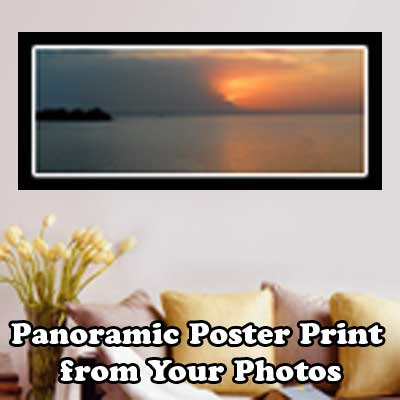 Personalized Panoramic Poster Prints