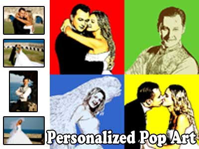 Personalized custom pop art design