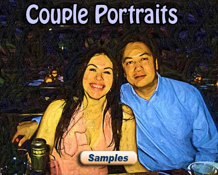 Framed funny photo gift ideas for couple