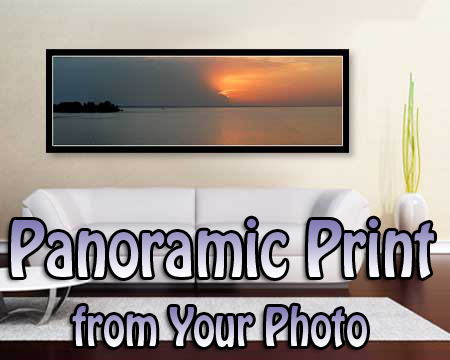 Wedding Anniversary gift for Parents - panoramic poster