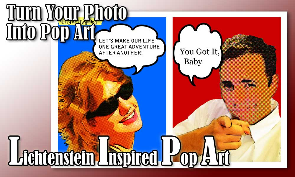Turn your photo into personalized pop art poster