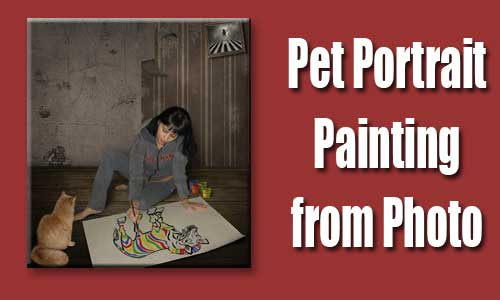 pet photo to painting 02