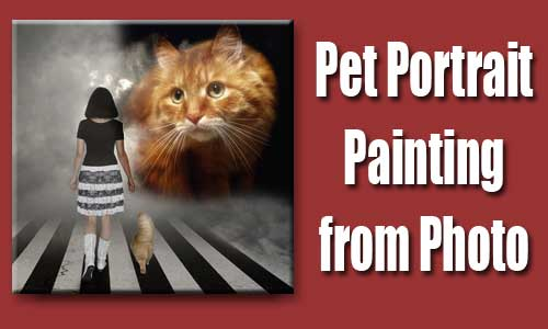 pet photo to painting 03