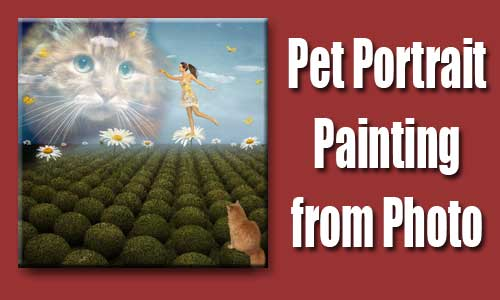 pet photo to painting 04
