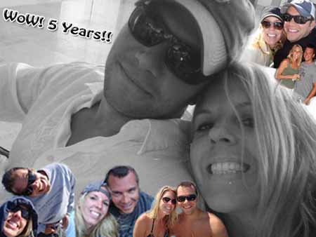 Anniversary collage for Girlfriend