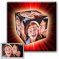 DIY Anniversary Gift Ideas 5/3/1 Rubik's Cube Collage