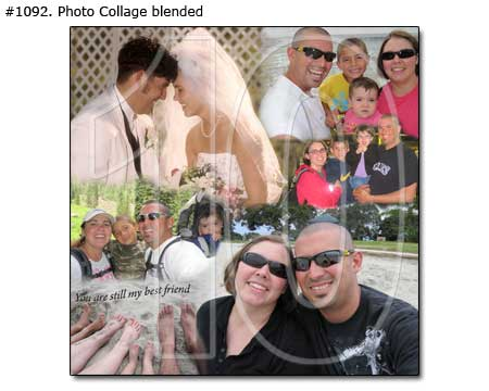 10th anniversary gift for wife and husband, perfect ideas for 10, 11, 12, 13, 14 years – photo collage