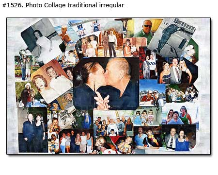20 year anniversary collage for wife from husband –20th picture collage ideas, $28