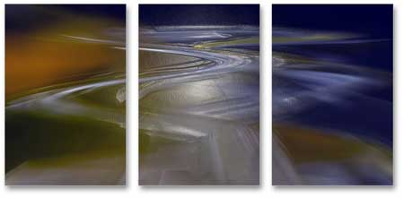 MP3005 set of 3 Panels Stretched Canvas Print abstract art