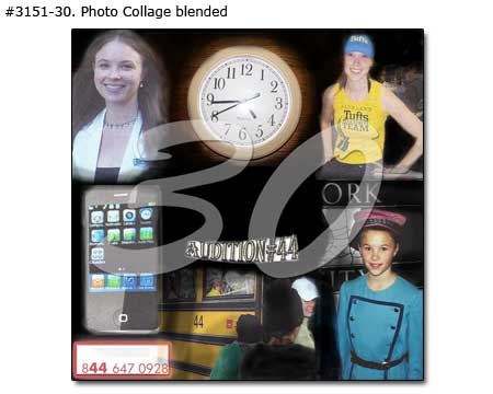 Personalized 30th birthday picture collage, gift ideas for girlfriend turned 30