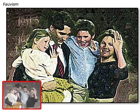 $42, Creative family oil portrait