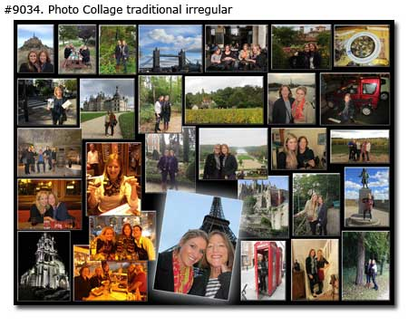 30 picture collage for sisters 30th birthday, good gift ideas for 31st, 32nd, 33rd, 34th b-day brother-sister too
