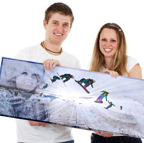 Panoramic Photo Collage, Christmas Gift for boyfriend/girlfriend