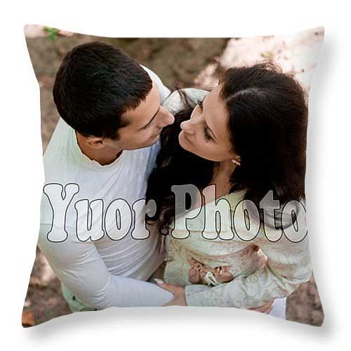 Personalized Throw Pillow printed on both sides