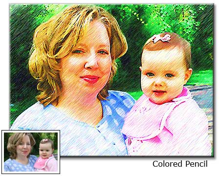 Grandma Birthday gift idea � photo to painting