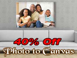 Family photo to canvas prints